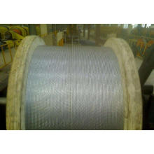 Spool packing oval hot-dipped galvanized steel wire